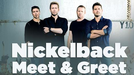 nickelback meet and greet package