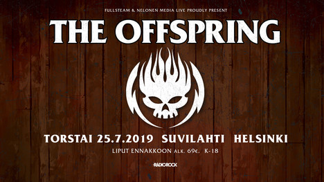 ... The Offspring - Suvilahti 9df4f32d01